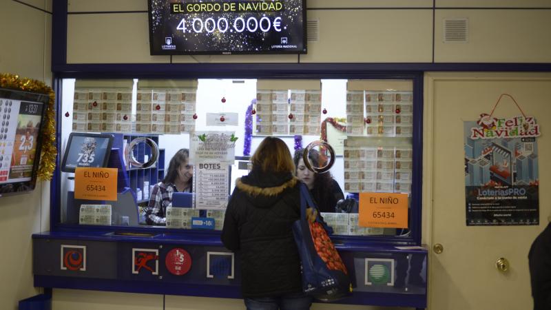 Caen las ventas de la Lotería de Navidad respecto a la cifra de 2019