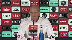 """Zidane: """"Es una suerte enorme estar en el Madrid"""""""