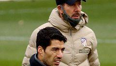 Simeone ya puede contar con Luis Suárez
