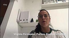 """Virginia Fernández, sobre Suecia: """"Tienen un lanzamiento de primera línea muy potente"""""""