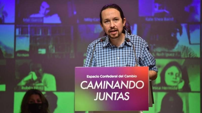 Iglesias asegura que Podemos, ERC y Bildu tienen que participar en la renovación del CGPJ