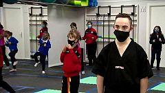 Juan Antonio, todo un maestro de kickboxing con síndrome de down