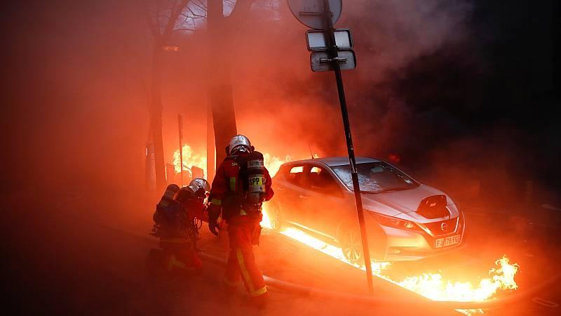 Incidentes en París en una marcha contra la violencia policial