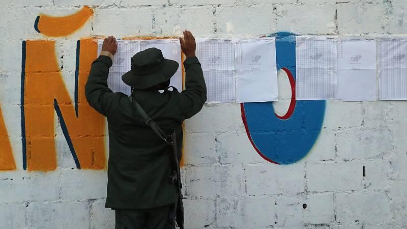 Venezuela celebra elecciones parlamentarias entre las llamadas a la abstención de los opositores