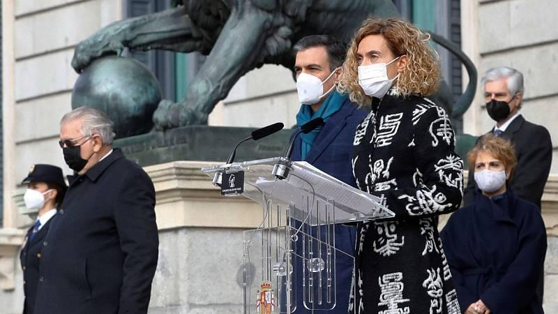 Un aniversario de la Constitución atípico por la pandemia