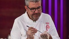 Flo imita al chef Toño Pérez de Atrio en la final