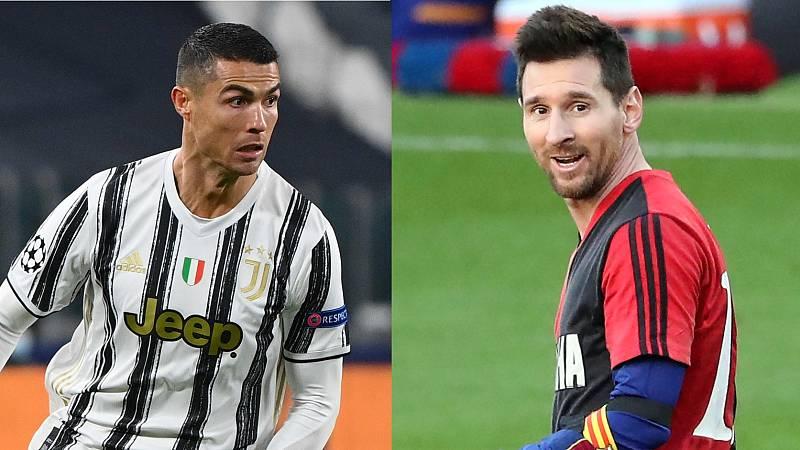 Messi y CR7, de nuevo frente a frente
