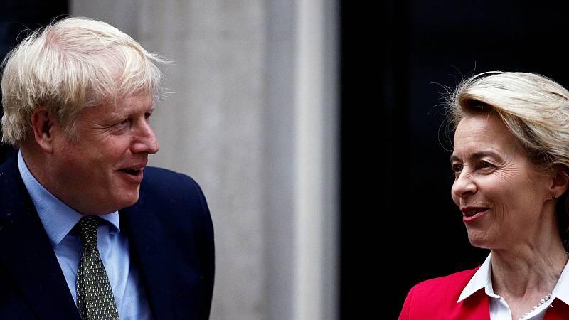 El acuerdo pos-Brexit afronta la recta final: Von der Leyen y Johnson tratan de salvar los últimos escollos