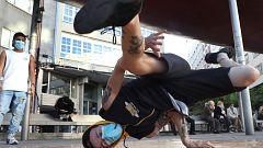 Los campeones de España de 'break dance' analizan su salto a los JJOO