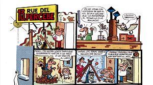 ¿Cómo dibujaba Ibáñez el 13 Rue del Percebe?