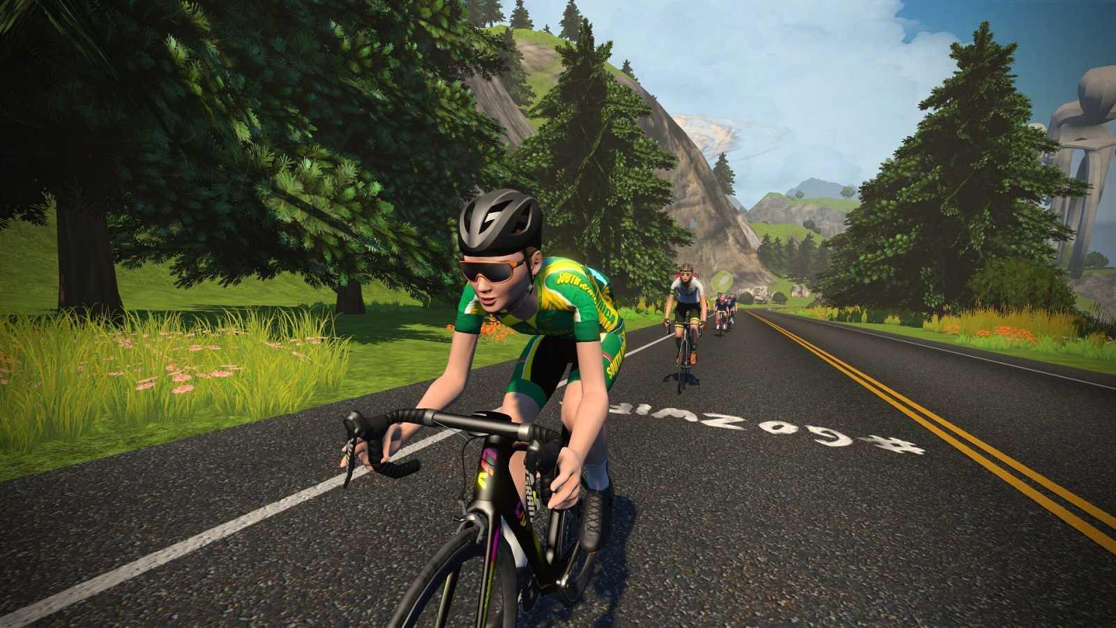 Así ha sido la llegada de Moolman-Pasio en el Mundial de ciclismo virtual de Watopía