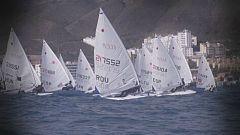 180 regatistas calientan motores en la semana olímpica de vela canaria