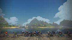 Mundial virtual de ciclismo de Watopia. Carrera femenina