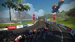 Mundial virtual de ciclismo de Watopia. Carrera masculina