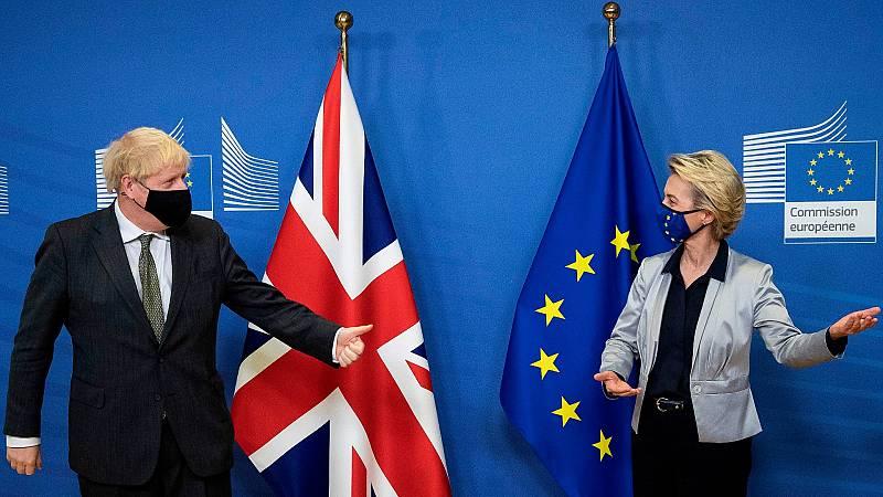 Johnson y Von der Leyen intentan desbloquear el 'Brexit'
