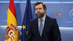 """Espinosa de los Monteros (Vox): """"De la regularización del rey emérito se está haciendo un uso político que no me gusta"""""""