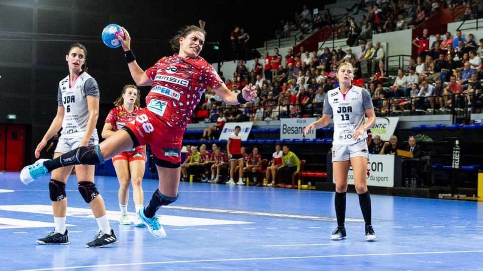 """María Núñez: """"Los partidos ante Francia son muy duros y están llenos de sorpresas"""""""