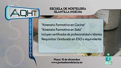 Formación gratis: Itinerarios formativos en hostelería y cursos online