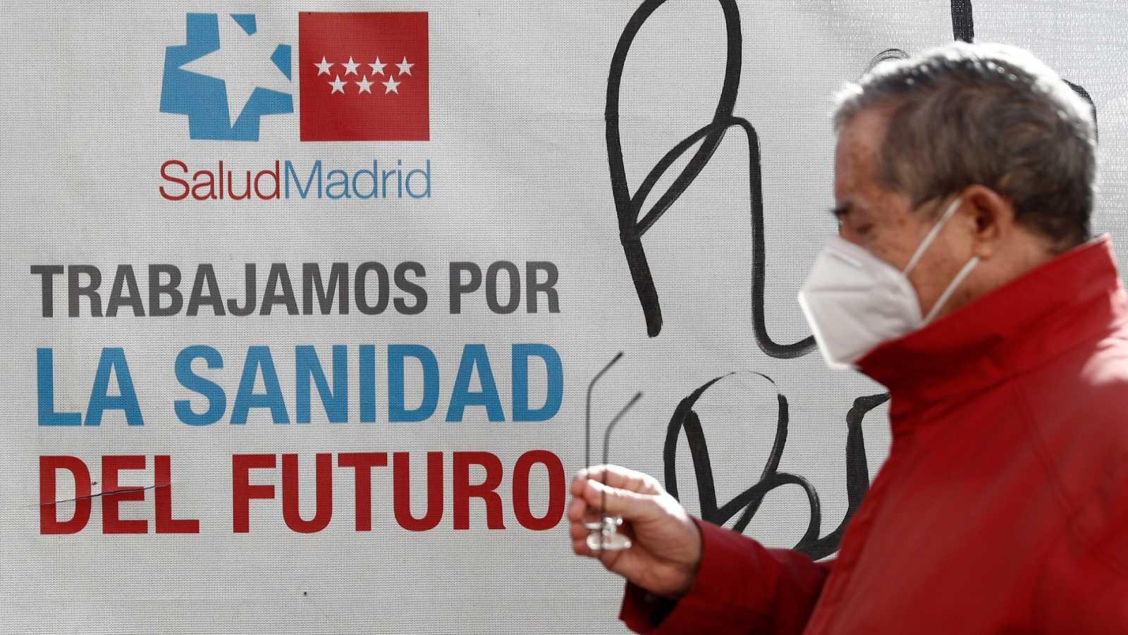 La Comunidad de Madrid hará test masivos a jóvenes tras la Navidad