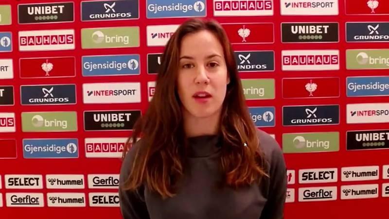 """Silvia Arderius: """"Ayer cometimos más errores de la cuenta. No se nos puede achacar nada en cuanto a actitud"""""""