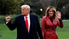 Corazón - Melania pediría el divorcio a Trump en cuanto salgan de la Casa Blanca