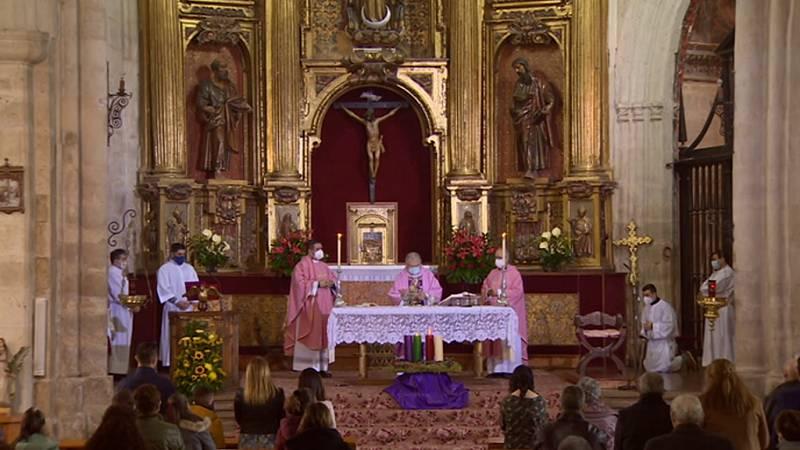 El Día del Señor - Colegiata de San Miguel, Ampudia (Palencia) - ver ahora