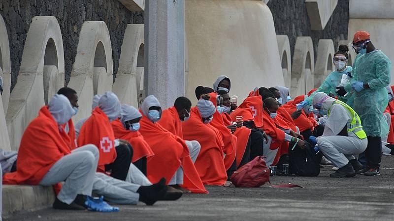 Así se realizan los traslados de migrantes desde Canarias a otros puntos de España