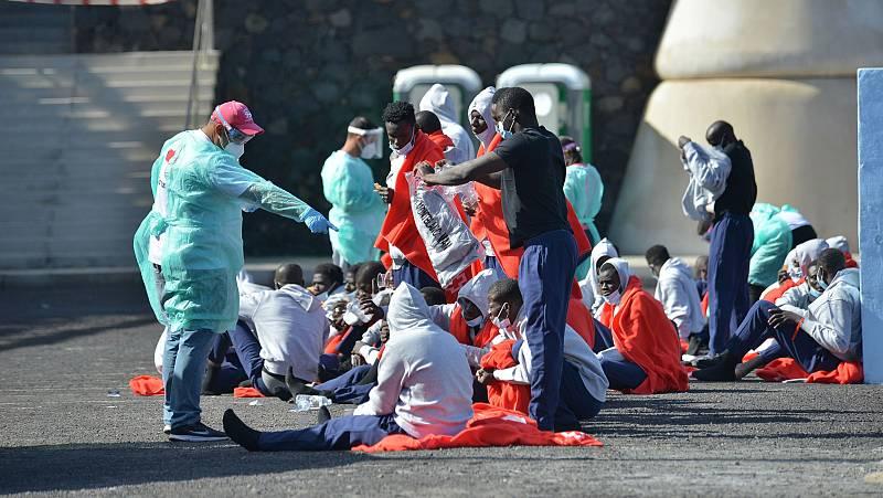 Canarias busca proteger la integridad de migrantes alojados