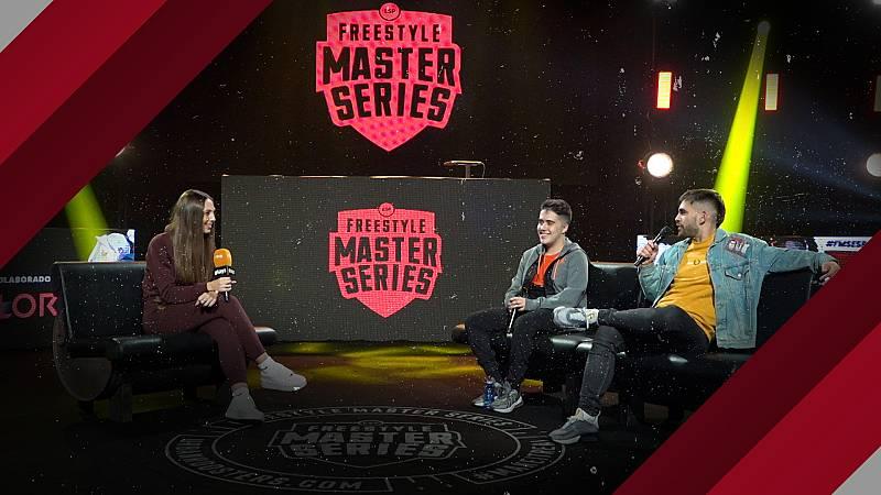 Entrevista a Errecé y Gazir tras la jornada 6 de la FMS