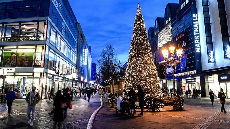 Alemania se prepara para unas Navidades confinadas