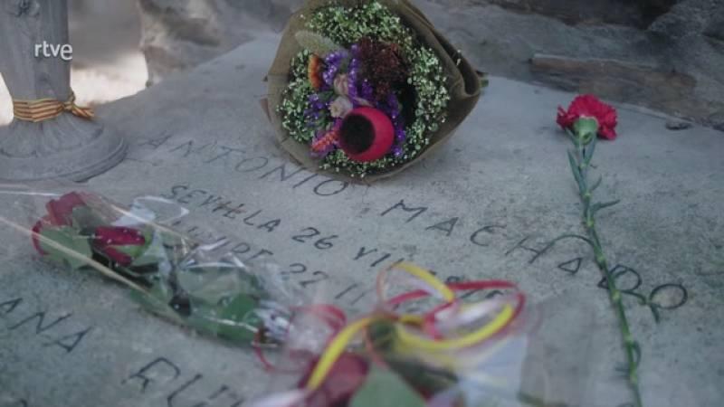 Imprescindibles explica cómo se recaudó dinero para construir la tumba de Antonio Machado en Collioure