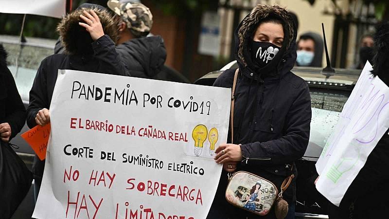 Macrooperación policial en la Cañada Real contra el tráfico de drogas y el fraude a las eléctricas