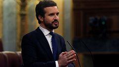 """Casado a Sánchez: """"El único culpable de que no se renueve el CGPJ es usted"""""""