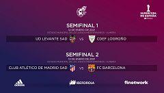 Atlético de Madrid y Barça vuelven a verse las caras en la Supercopa de España