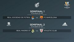 Supercopa | Real Sociedad - Barça y Madrid - Athletic, las semifinales
