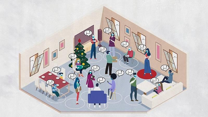 ¿Cómo evitar los contagios en las comidas de Navidad?