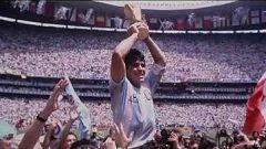 Maradona, en el recuerdo del The Best