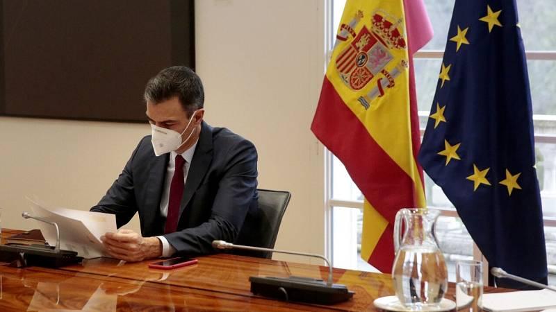 Pedro Sánchez da negativo por coronavirus continuará en cuarentena hasta el día 24