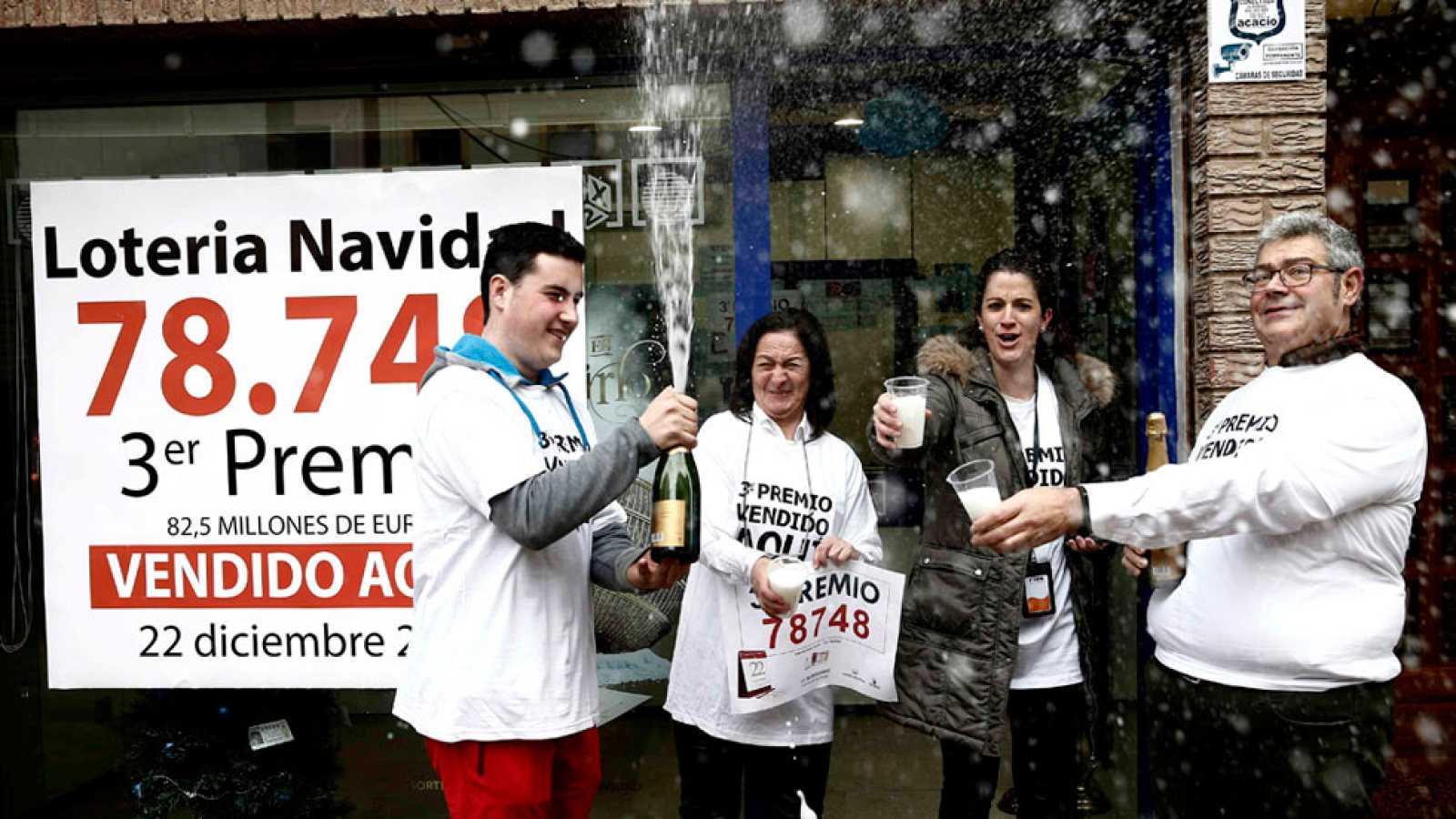 Navarra espera un premio Gordo repartido en un año marcado por el coronavirus