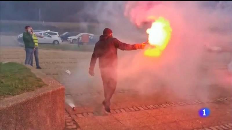 Os traballadores de Alcoa celebran a anulación do ERE