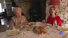 Sole Giménez prepara cocido con pilotas típico de Navidad