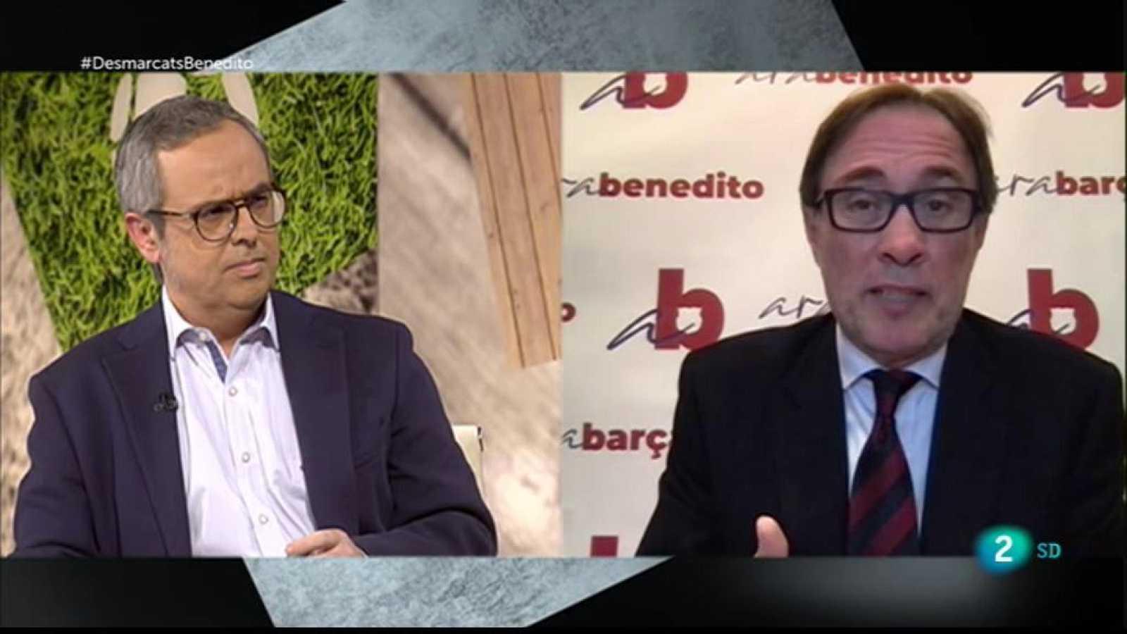 Desmarcats - Entrevista a Agustí Benedito