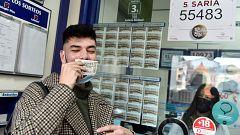 El 55.483, es el quinto quinto premio de la Lotería de Navidad de 2020