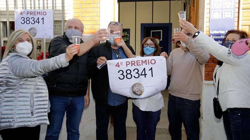 El 38341, el segundo cuarto premio del Gordo de Lotería de Navidad 2020
