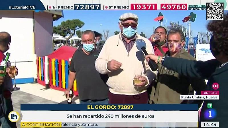 La historia de un feriante que llevaba 1 años sin ingresos y le ha tocado la Lotería
