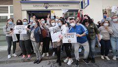 El 52.472, tercer premio de la Lotería de Navidad, riega de millones Cádiz, Cuenca, Toledo y Ripoll