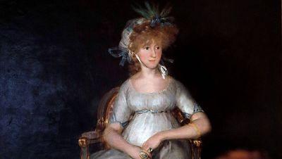 """El Prado expone """"La condesa de Chinchón"""" de Goya tras su restauración"""