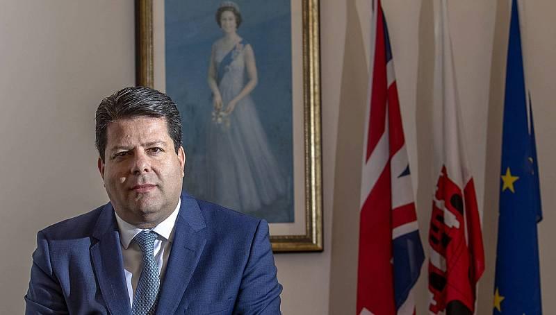 """Fabian Picardo, ministro principal de Gibraltar: """"Habrá un acuerdo entre Reino Unido y la UE"""""""