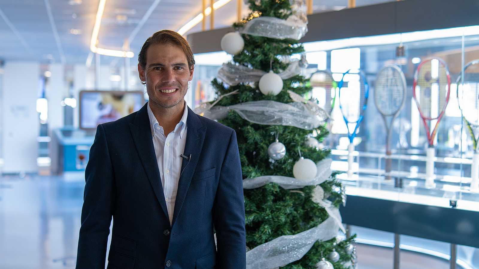 Rafa Nadal felicita la Navidad