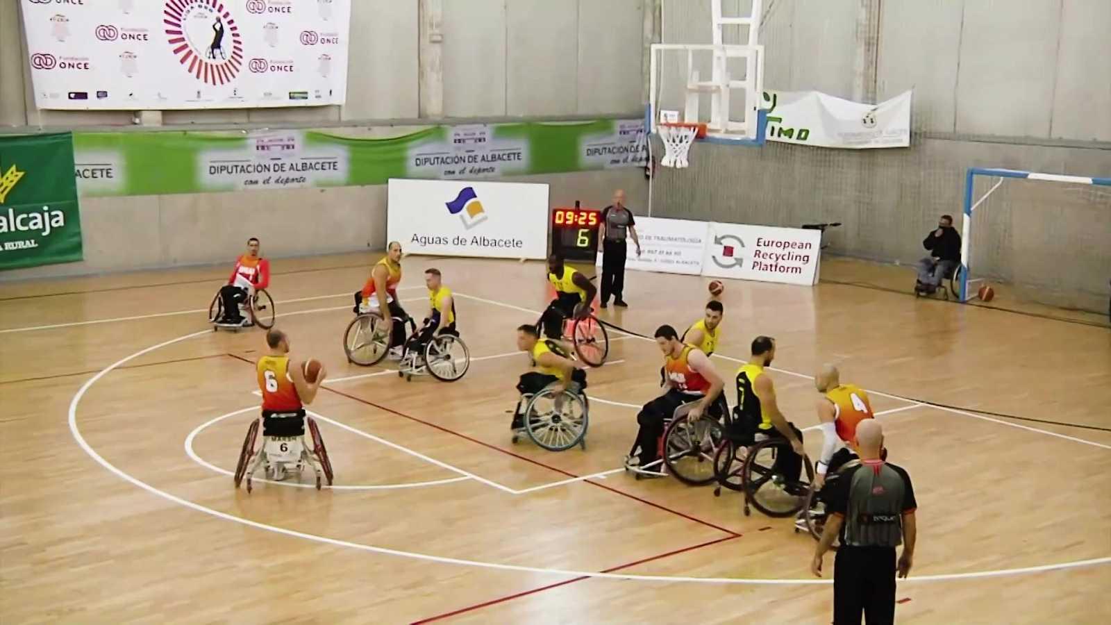 Baloncesto en silla de ruedas - Liga BSR división de Honor. Resumen jornada 8 - ver ahora